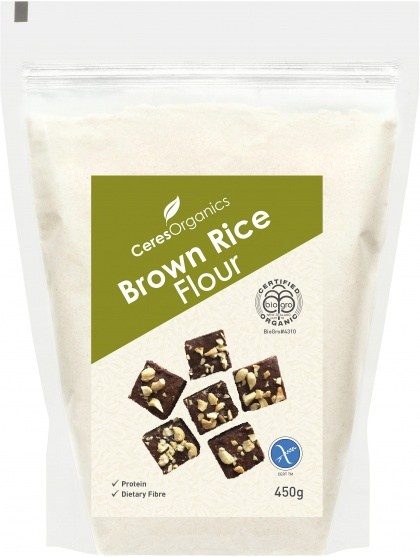 Ceres Organics Brown Rice Flour 450g