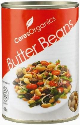 Ceres Organics Butter Beans 400g (Can)