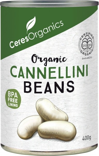 Ceres Organics Cannellini Beans 400g (Can)