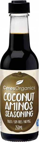 Ceres Organics Coconut Aminos Seasoning 250ml