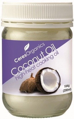Ceres Organics Coconut Oil High Heat 184g