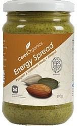Ceres Organics Energy Spread Pumpkin, Sunflower Seed & Almond 290g