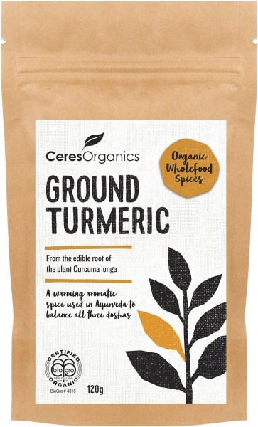 Ceres Organics Ground Turmeric 120g