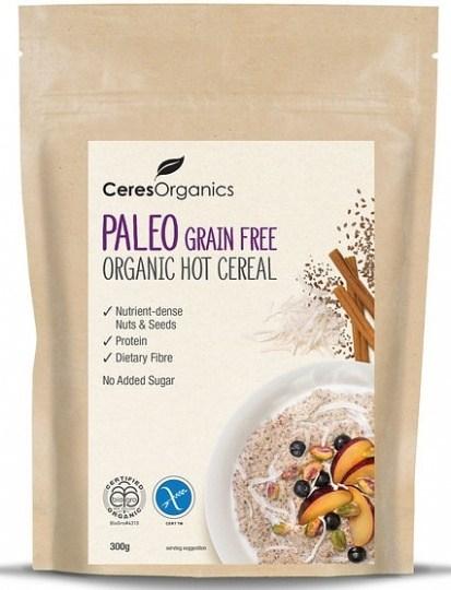 Ceres Organics Hot Cereal Paleo Grain Free 300g