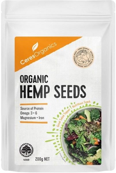 Ceres Organics Hulled Hemp Seeds 200g