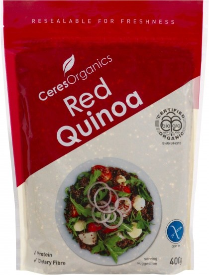 Ceres Organics Inca Red Quinoa Grain 400g