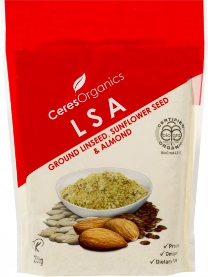 Ceres Organics LSA 250g ( Linseed, Sunflower & Almond )