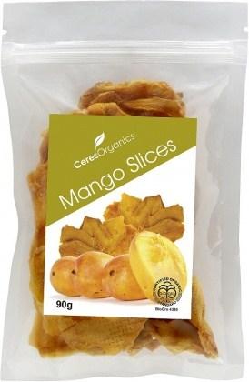 Ceres Organics Mango Slices 90g