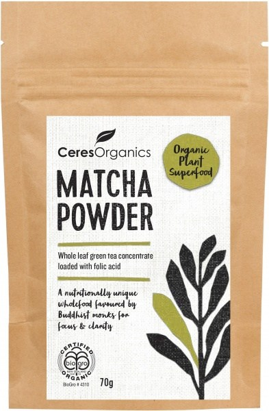 Ceres Organics Matcha Powder 70g
