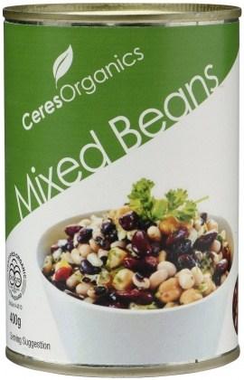 Ceres Organics Mixed Beans 400g (Can)