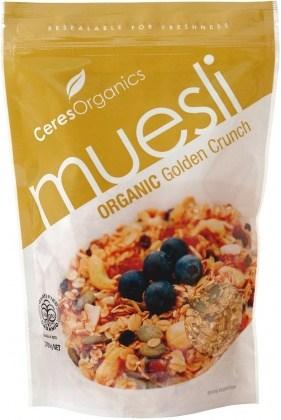 Ceres Organics Muesli Golden Crunch 700g