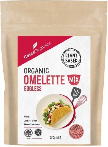Ceres Organics Organic Eggless Omelette Mix 250g