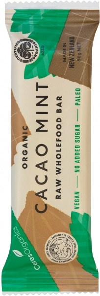 Ceres Organics Organic Raw Food Bar Cacao Mint 50g