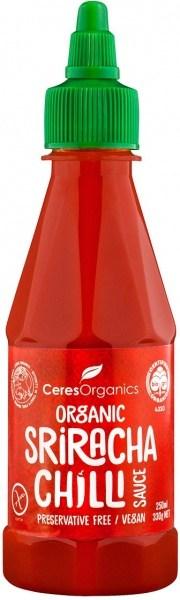 Ceres Organics Organic Sriracha Chilli Sauce 250ml