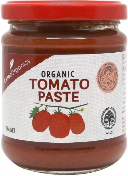 Ceres Organics Organic Tomato Paste 190g