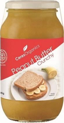 Ceres Organics Peanut Butter Crunchy 700g