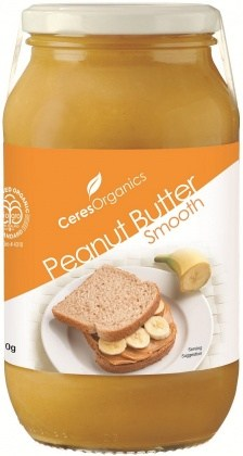 Ceres Organics Peanut Butter Smooth 700g