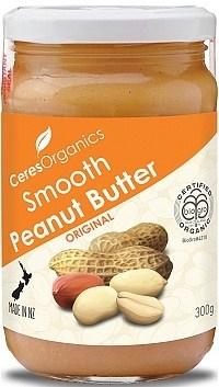 Ceres Organics Peanut Butter Smooth Original 300g