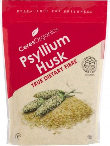 Ceres Organics Psyllium Husk 180g