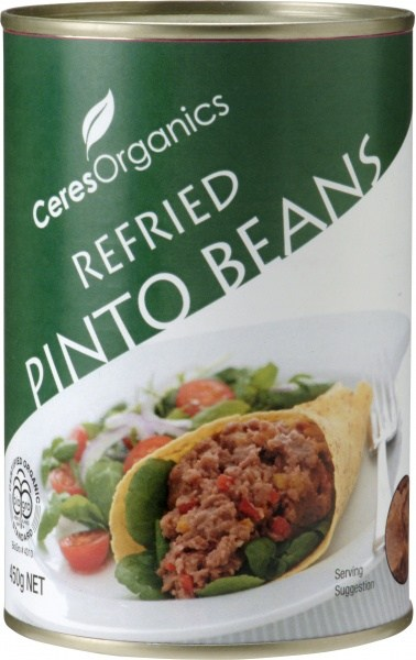Ceres Organics Refried Pinto 450g (can)