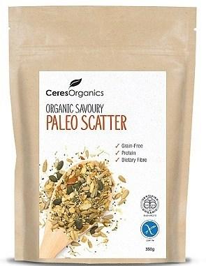 Ceres Organics Savoury Paleo Scatter 350g