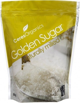 Ceres Organics Sugar Golden 500g