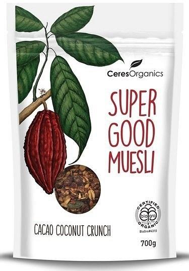 Ceres Organics Super Good Muesli Cacao Coconut Crunch 700g