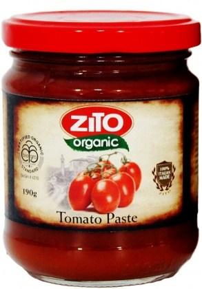 Ceres Organics Tomato Paste 190g Jar