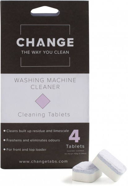 Change Washing Machine Cleaning Tablets (4 Tablets Pouch)
