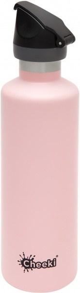 Cheeki Active Insulated Bottle Pink 600ml