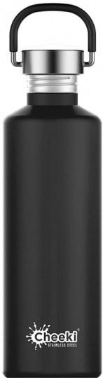 Cheeki Classic Stainless Steel Matte Black Bottle 750ml