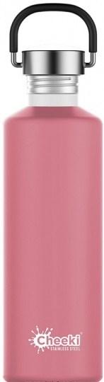 Cheeki Classic Stainless Steel  Pink Bottle 750ml