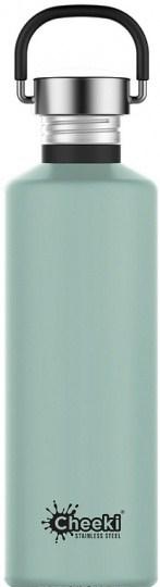 Cheeki Classic Stainless Steel Pistachio Bottle 750ml