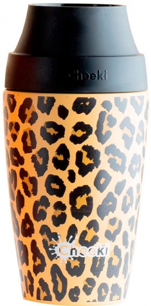 Cheeki Coffee Mug 3D Leopard 350ml