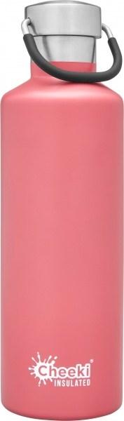 Cheeki Insulated Classic Bottle Pink 600ml