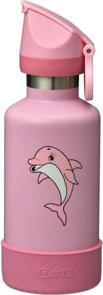 Cheeki Insulated Kids Bottle Dolphin 400ml