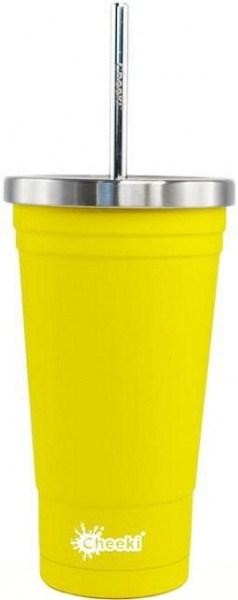 Cheeki Insulated Tumbler Lemon 500ml