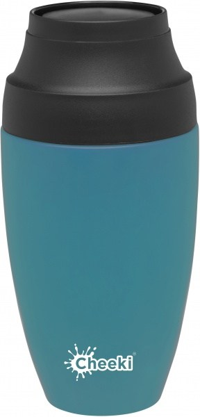 Cheeki Stainless Steel Coffee Mug Topaz 350ml
