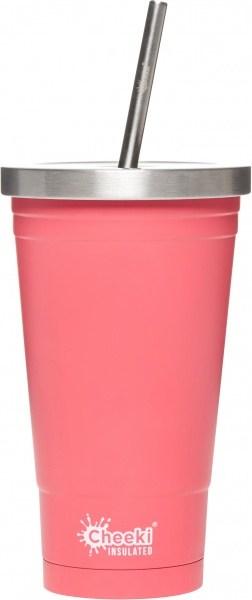 Cheeki Stainless Steel Insulated Tumbler Pink 500ml