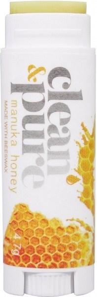 Clean & Pure Manuka Honey Lip Balm 4.7g