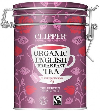 Clipper Caddy Organic English Breakfast Ltd Edition 30Teabags