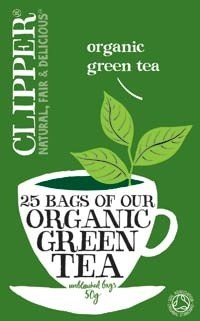 Clipper Fairtrade Organic Green 25Teabags