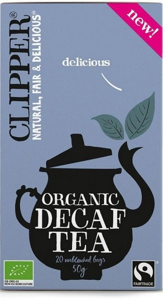 Clipper Organic Black Decaf Tea  20Teabags (50g)