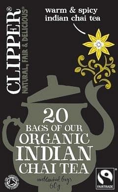 Clipper Organic Indian Chai Tea 20 Teabags