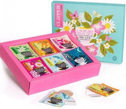 Clipper Organic Infusion Teas Selection Box  60Teabags