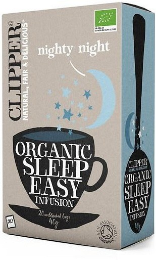 Clipper Organic Sleep Easy Fusion (Nighty Night) Tea 20Teabags