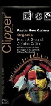 Clipper Papua New Guinea Roast & Ground Arabica Coffee 227gm
