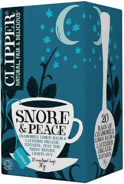 Clipper Snore & Peace Tea 20Teabags