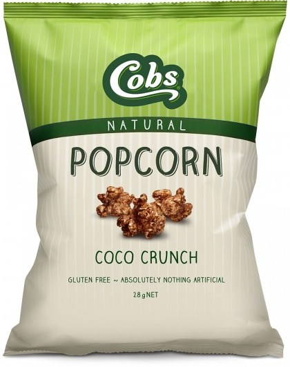 Cobs Natural Coco Crunch Popcorn  30x28g