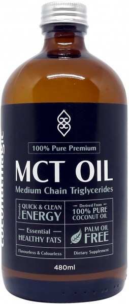 Coconut Magic 100% Pure Premium MCT Oil  480ml